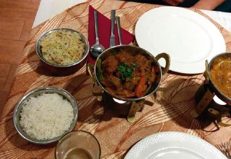 Cocina del Bollywood Indian Restaurant de Puerto del Carmen