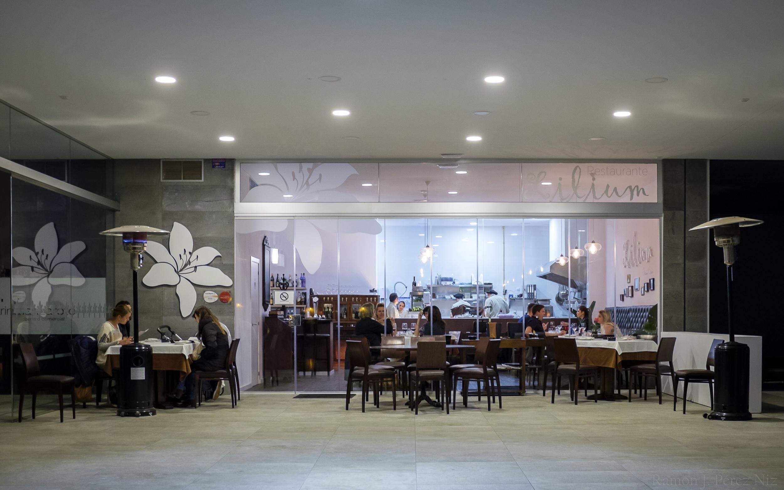 Restaurante Lilium en Marina Lanzarote