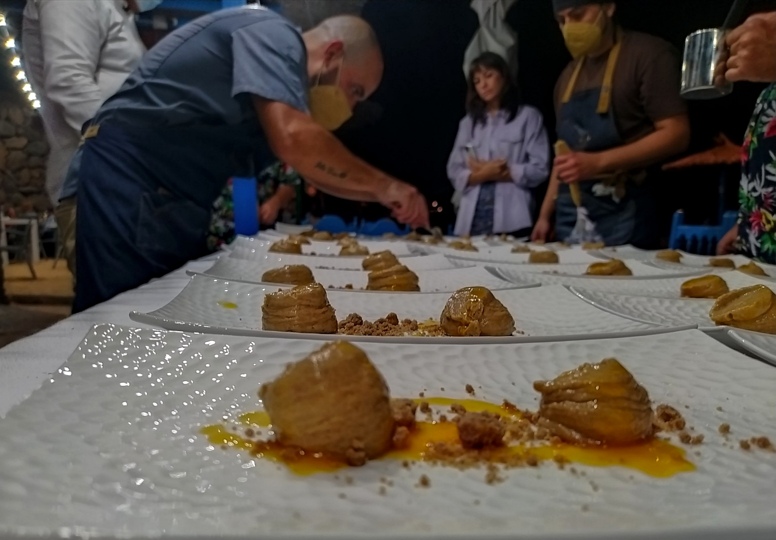 Yeray Gil Primario Gastrobar en las Cenas de una Noche de Verano del Chiringuito Tropical Lanzarote